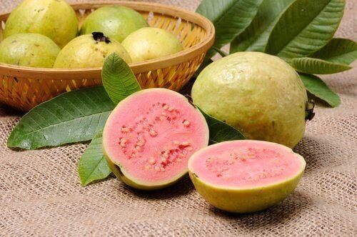 Guave is goed voor de spijsvertering