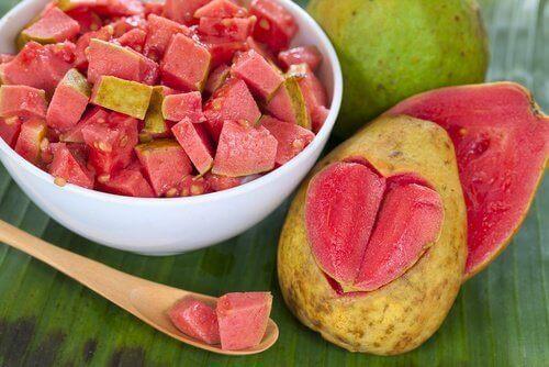 Guave is goed voor de huid