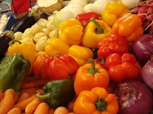 Hyaluronzuur: groenten