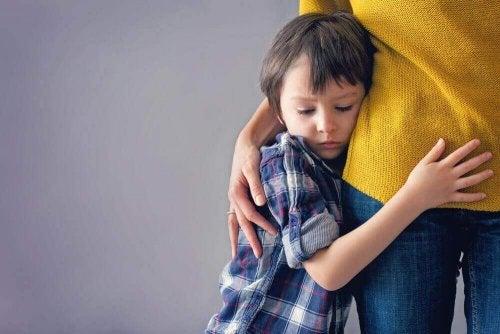 Verlatingsangst is terug te leiden tot de kindertijd