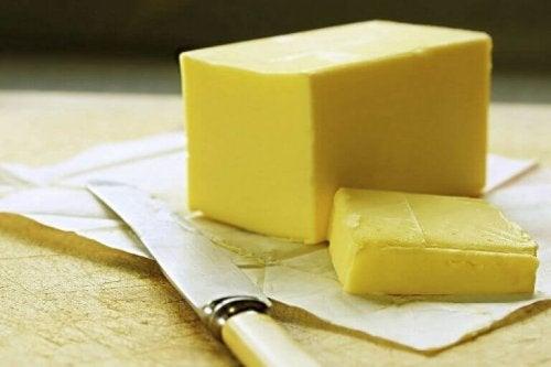 Margarine zorgt voor een hoog cholesterolverbruik