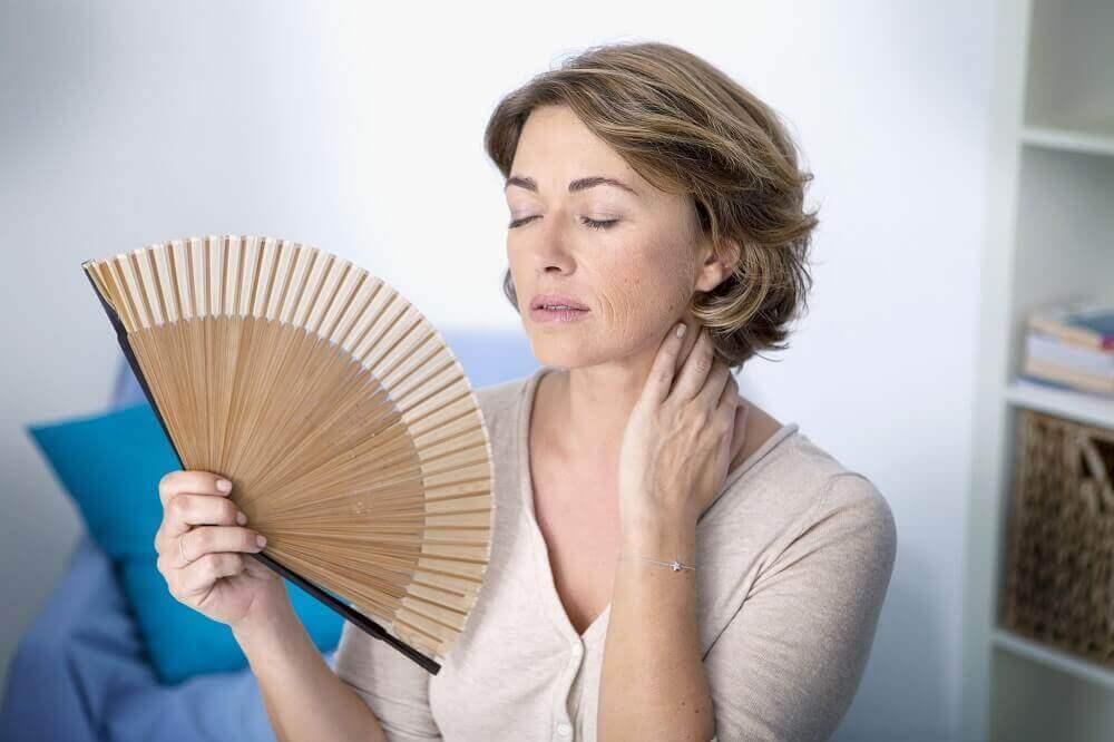 De symptomen van menopauze