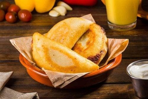 Gemakkelijk voorgerecht: mini-empanadas
