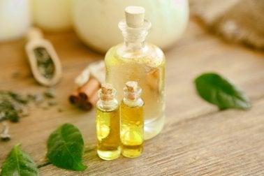 Natuurlijke olie om anuskloofjes te behandelen