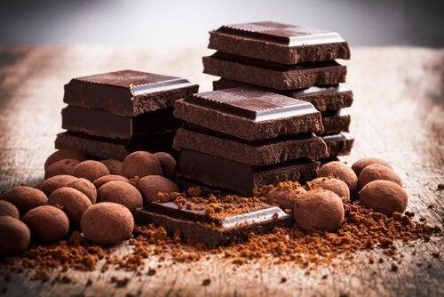 Pure chocola is goed voor zenuwachtige mensen