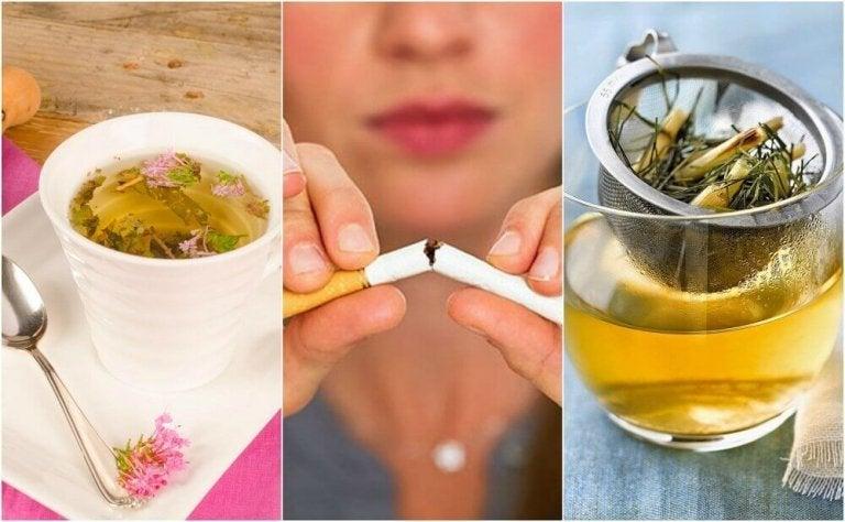 Verminder je trek in een sigaret met deze kruidentheeën