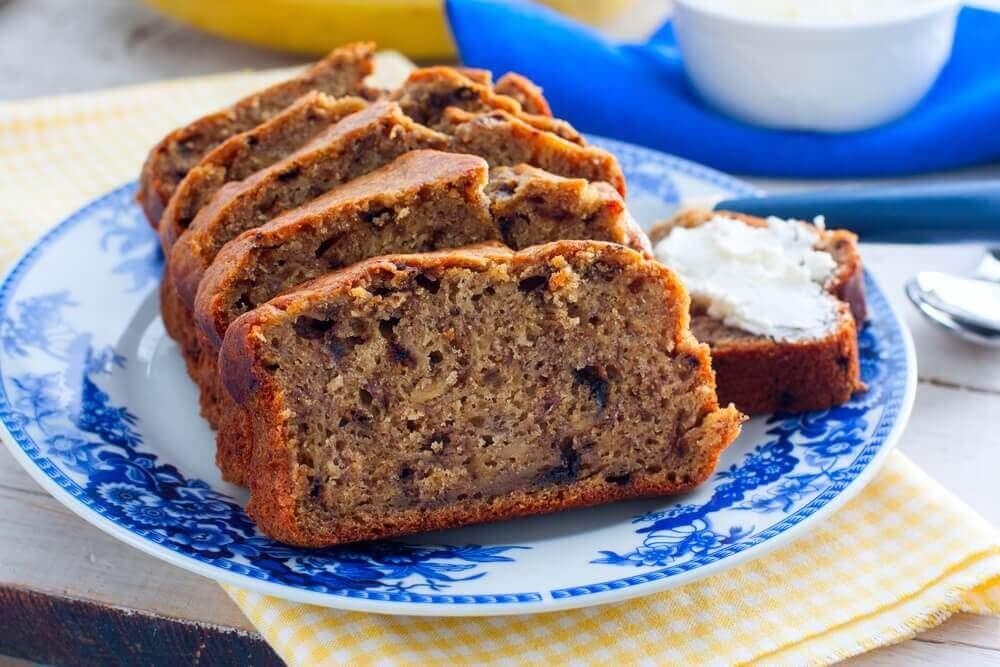 Zoet brood met chocolade