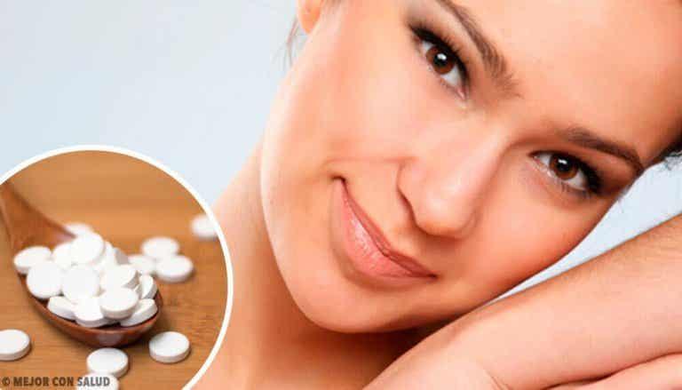 4 gezichtsmaskers met aspirine voor de perfecte huid