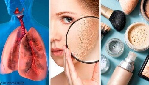 10 factoren die een droge huid veroorzaken