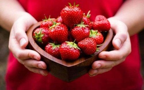 Een gezond hart dankzij aardbeien