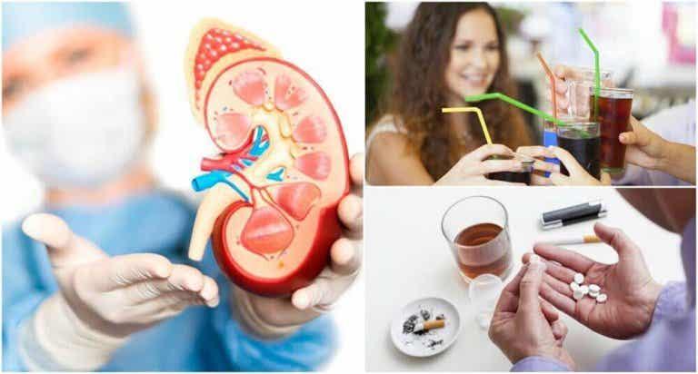 8 slechte gewoonten die de nieren kunnen beschadigen