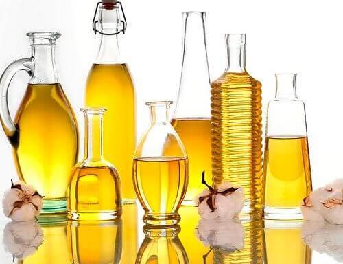 Diverse oliesoorten