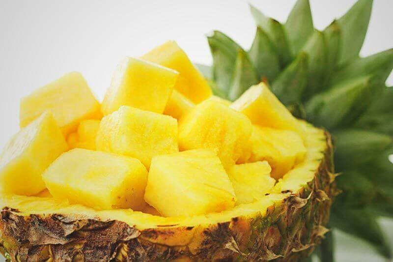 Ananas om een urineweginfectie te bestrijden