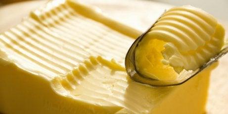 Opgekrulde boter