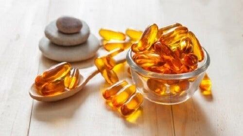 Broze nagels versterken met vitamine E