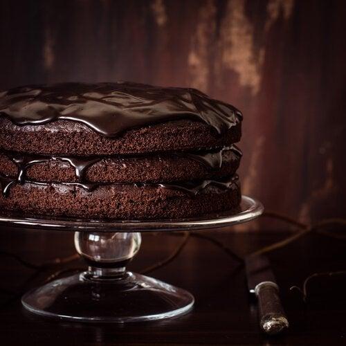 Een chocoladetaart