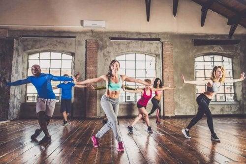 Dansworkouts om in vorm te komen