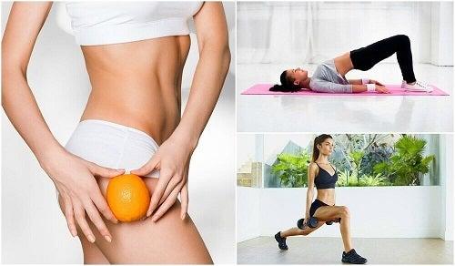 Een eind maken aan cellulitis in je billen en dijen met 5 oefeningen