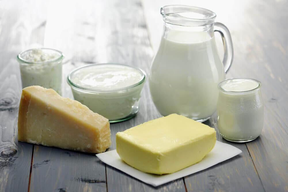Melkproducten veroorzaken een lichaamsgeur