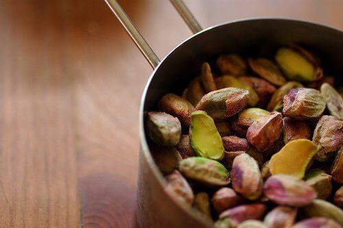 Pistachenoten helpen bij gewichtsverlies