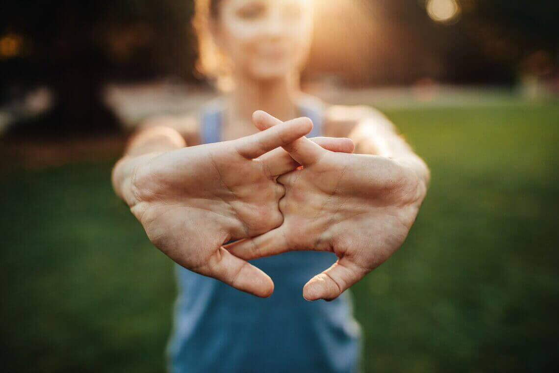 Oefening voor de handen