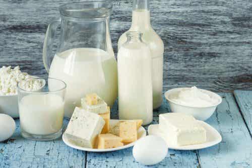Welke zuivelproducten bevatten weinig lactose?