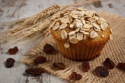 Proef deze voedzame, glutenvrije en lactosevrije muffins met havermout