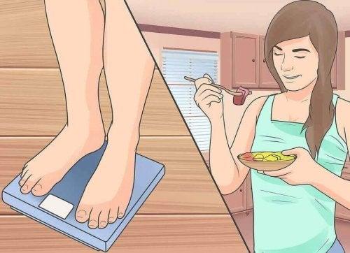 Op een gezonde manier aankomen met de juiste voeding