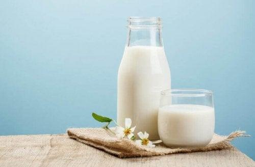 Vermijd melk bij problemen met diarree