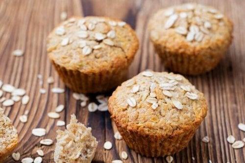 Een recept voor muffins met havermout