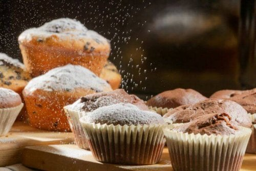 Suikervrije muffins met havermout