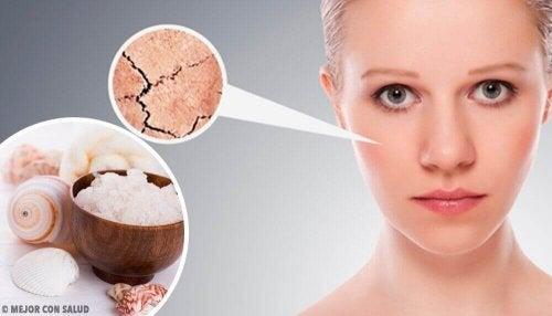 Een eind maken aan een droge huid met 5 natuurlijke remedies