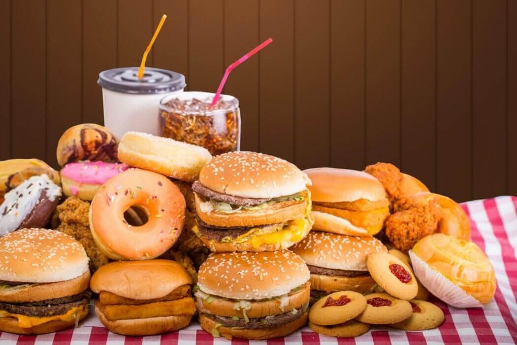 Junkfood is voedsel dat slecht is voor de spijsvertering