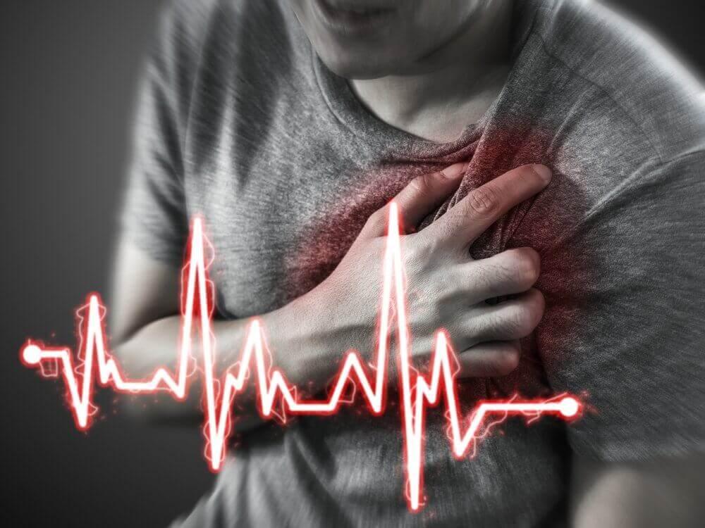 De symptomen van een hartaanval