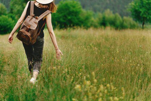 Scherp van geest blijven door dagelijks verschillende routes te wandelen