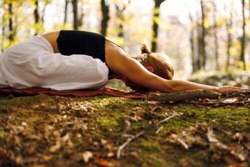 Yoga als ontspanning