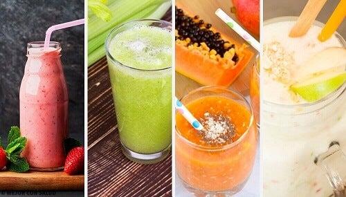 4 gezonde en heerlijke ontgiftende smoothies