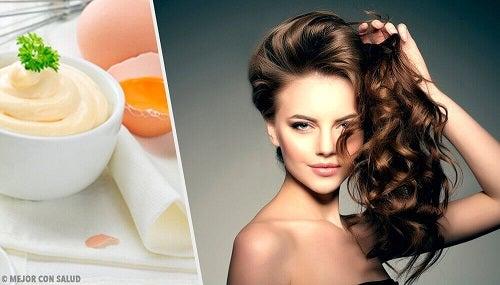 5 haarmaskers met mayonaise voor schitterend zacht haar