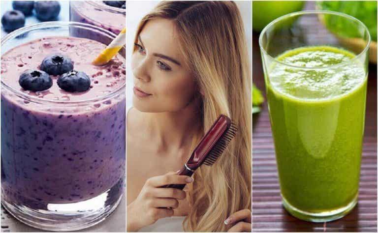 5 smoothies die je haar voeden en versterken