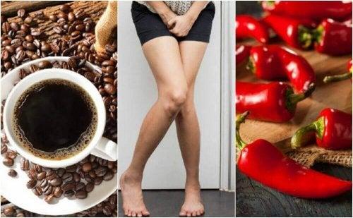 5 voedingsmiddelen vermijden als je een overactieve blaas hebt