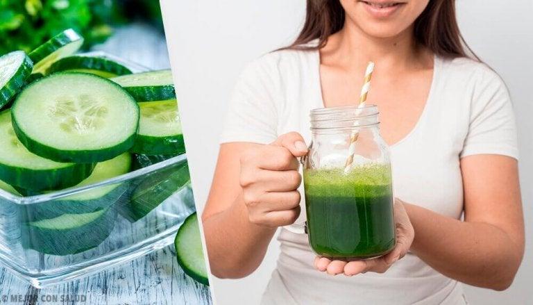 9 van de voordelen van komkommersap