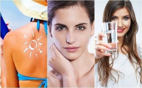 6 gewoonten om veroudering van je huid te voorkomen