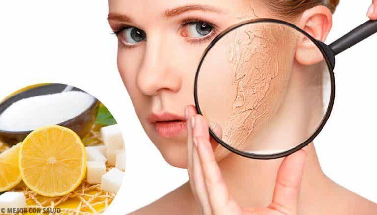 Exfolianten voor het lichaam bij een droge huid