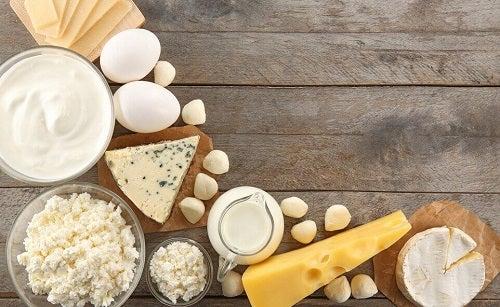 Eet minder zuivelproducten
