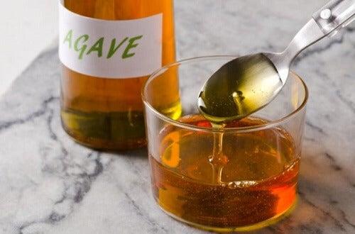Gebruik agavesiroop in plaats van suiker