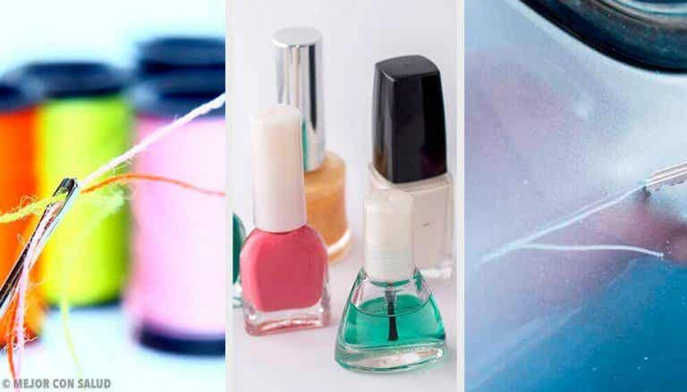 9 alternatieve manieren om nagellak te gebruiken