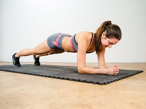 Oefeningen voor de borststreek
