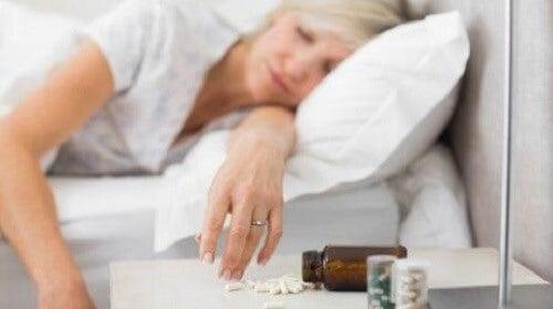 Wees voorzichtig met het gebruik van slaappillen