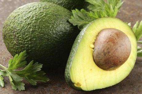Avocado is een van die kalmerende voedingsmiddelen