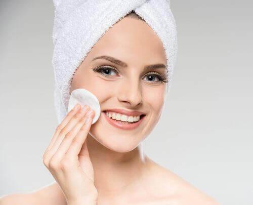 Je gezicht schoonmaken